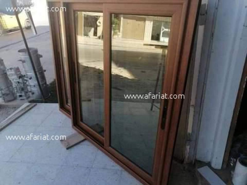 إعلان على أفاريات تونس ل: بيع أبواب ونوافذ بلاكارات بالجملة والتفصيل