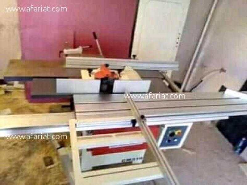 إعلان على أفاريات تونس ل: بيع آلات نجارة