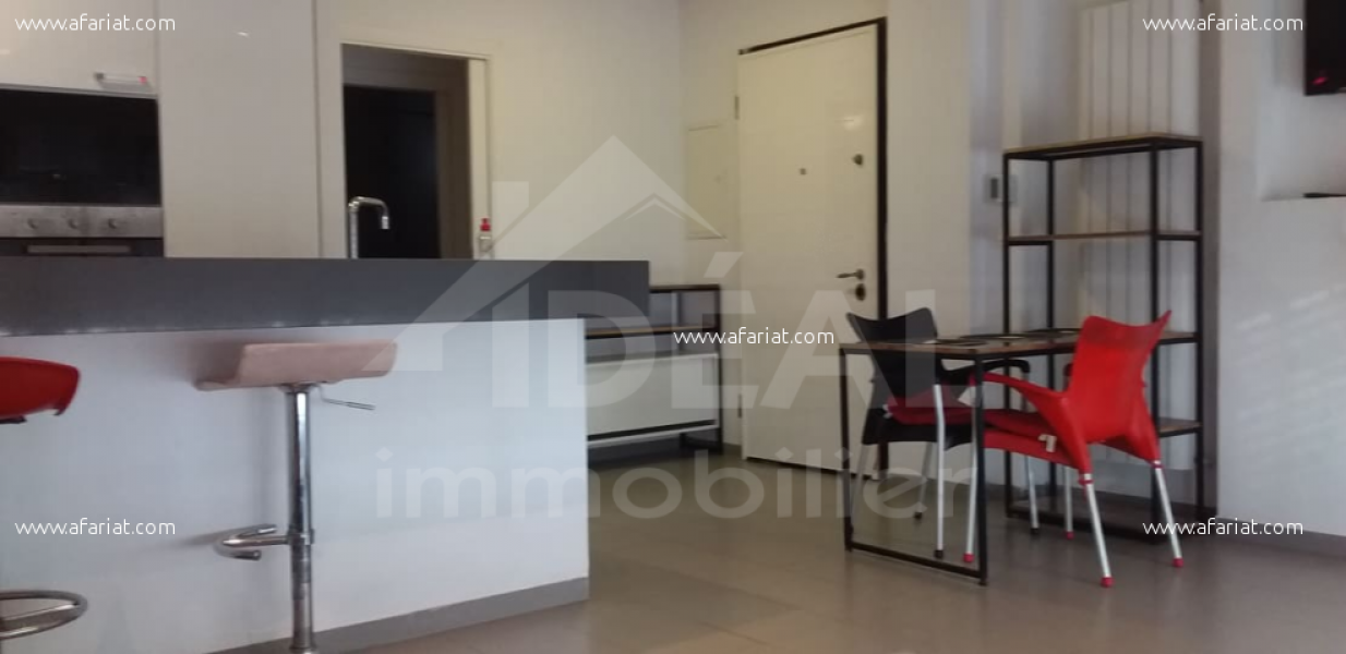 إعلان على أفاريات تونس ل: شقة مفروشة بشكل رائع  في منطقة قمرت