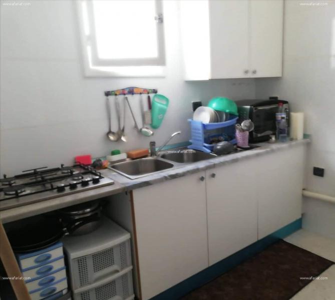 إعلان على أفاريات تونس ل: شقة مع انترنت للكراء باليوم